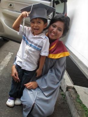 me and lintang wisuda